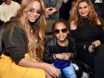 Beyoncé, Solange, Kelly And Michelle Bring Their Corny Jokes To Tina Lawson's Wearable Arts Gala