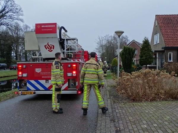 Schoorsteenbrand in Dedemsvaart
