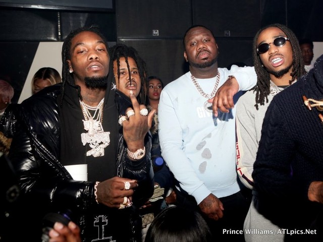 Waka Flocka, Tammy Rivera, Migos, Lil Yachty, Thugger Brave The Snow For Big Bank Black's No Cap Party