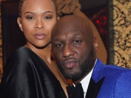 "Already Married? Lamar Odom Has ""Wife"" Sabrina Parr's Name TATTED On His Neck"