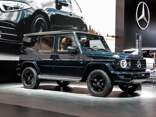2018 Detroit Auto Show: The first new Mercedes-Benz G-Class in almost 40 years