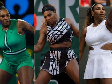 Serena Williams' year with Nike through the fashion lens