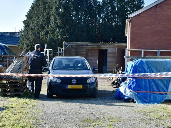 Groot xtc-lab gevonden in schuur tussen huizen, één verdachte aangehouden