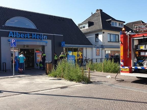 Supermarkt Losser ontruimd na brand