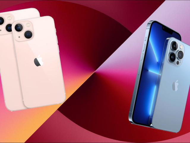 Dit zijn alle verschillen tussen de iPhone 13, mini, Pro en Pro Max