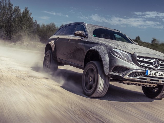 Mercedes-Benz E-Class All Terrain 4×4² is hilarious, should BMW make something similar?