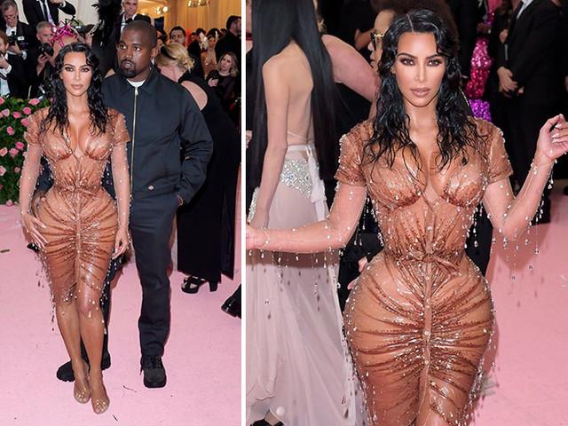 Kim Kardashian Denies Removing Ribs To Make Met Gala Dress Fit