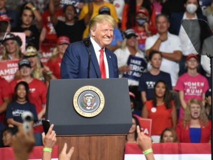Seriously Disturbed: Trump Staffers Reportedly Removed Thousands Of Social Distancing Stickers From Seats At The Tulsa Rally