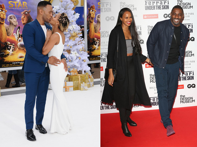 Some Strong Black Lovin': Idris Elba Holds Hands With His Bae, Meagan Good Gets Frisky With Devon Franklin