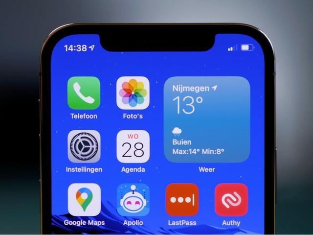 'iPhone 13-notch is kleiner dankzij nieuw ontwerp'