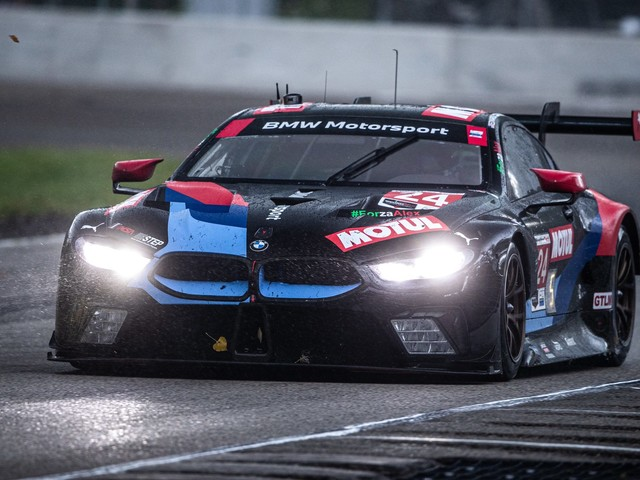 BMW M8 GTE scores podium at Road America