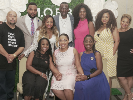 "A Lil Positivity: Moms Of Black Boys United Hosts Special Breakfast Honoring ""The Exonerated Five"" At Essence Fest"