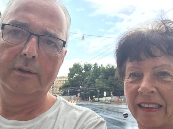 Echtpaar uit Hengelo dankzij navigatiesysteem niet op ingestorte brug in Genua