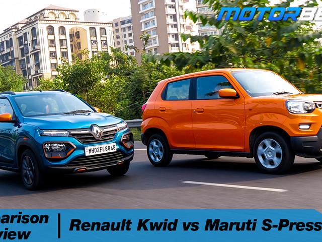 Maruti S-Presso vs Renault Kwid – [Video]