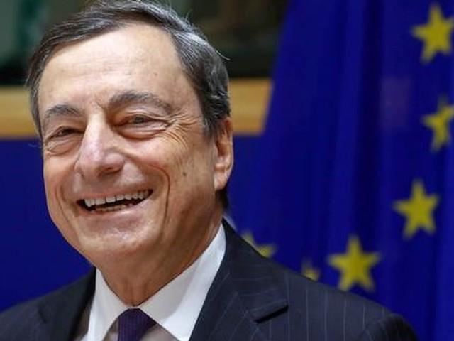 Draghi praat euro tot boven $1,25