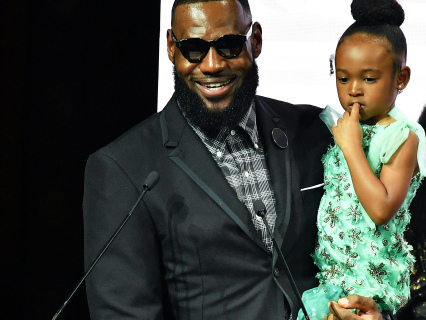 Absolutely Precious: Zhuri James Makes No-Bake Snacks With Her Daddy Lebron [Video]