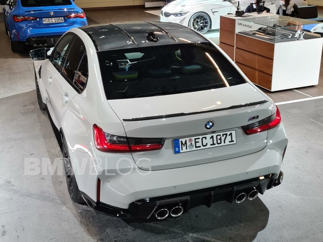 2021 BMW M3 (G80) – Exhaust Sound, Revs and A Very Special Color