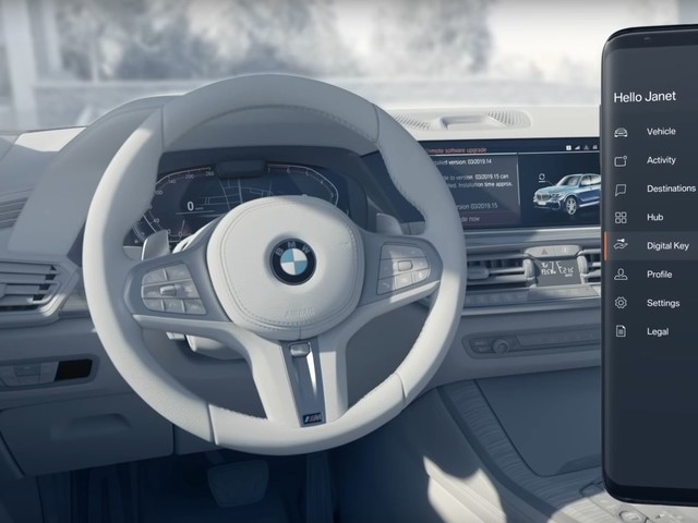 Video: Here's How the BMW Digital Key Works