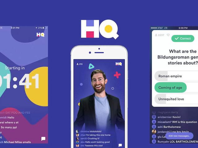 Opinie: Trivia-quizgame HQ is de spannendste nieuwe app in jaren