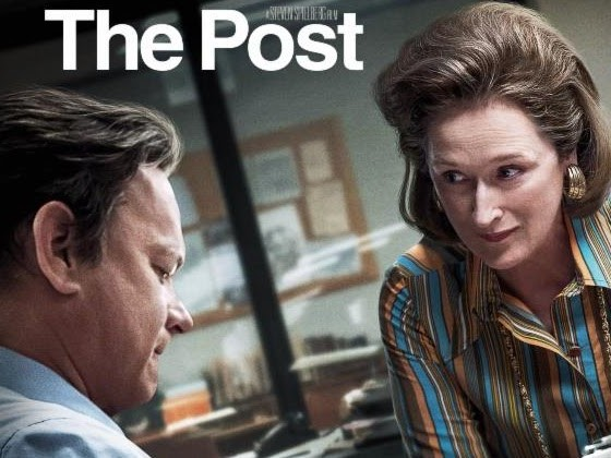 THE POST ARRIVES ON DIGITAL APRIL 3 AND 4K ULTRA HD™, BLU-RAY™ AND DVD ON APRIL 17