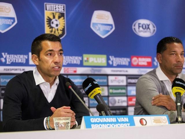 Feyenoord ontspannen richting kampioenswedstrijd