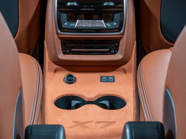 Video: BMW X7 M50d gets interior and leather upgraded by Vilner