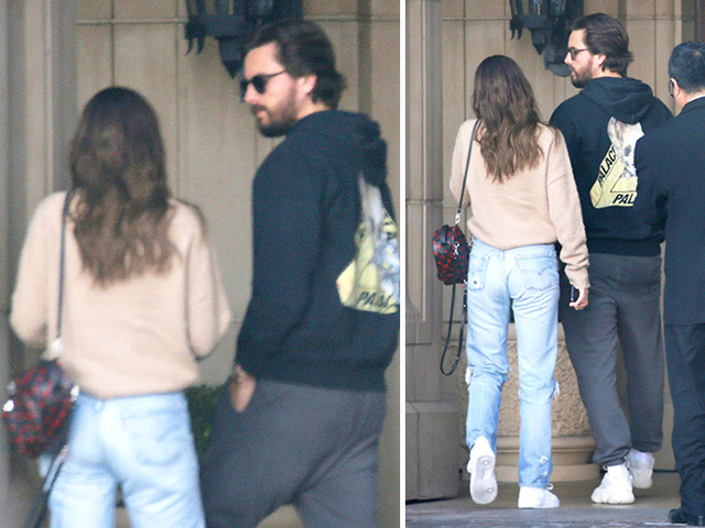 Scott Disick Reunites With Sofia Richie After Her Dad Dissed Him