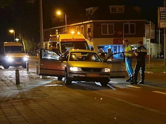Drie auto's betrokken bij aanrijding in Enschede