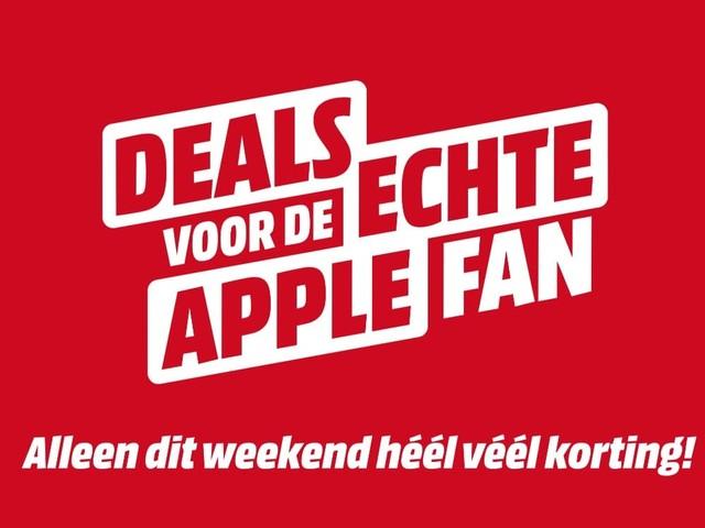 iPhones, AirPods, Apple Watch en meer tijdelijk extra goedkoop bij MediaMarkt (ADV)