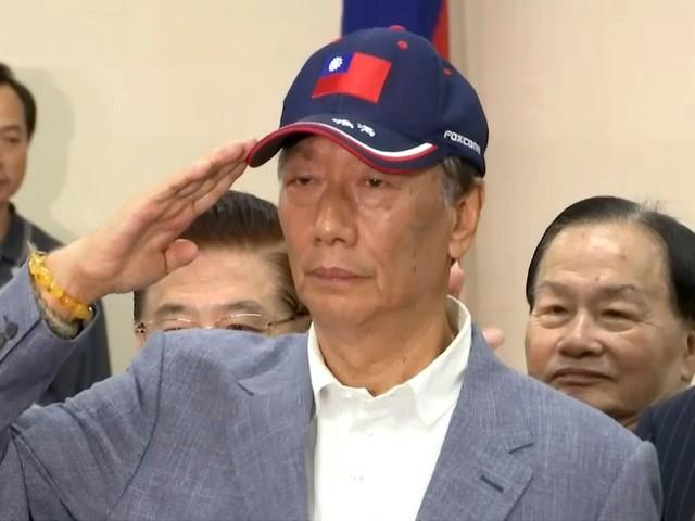 Terry Gou wil president van Taiwan worden, gesteund door een zeegodin
