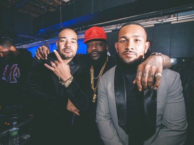 Rick Ross, Justin Combs, Sevyn Streeter, DJ Envy And More Turn Up For Larry Morrow And Angela Yee's All Black Affair In New Orleans [PHOTOS]