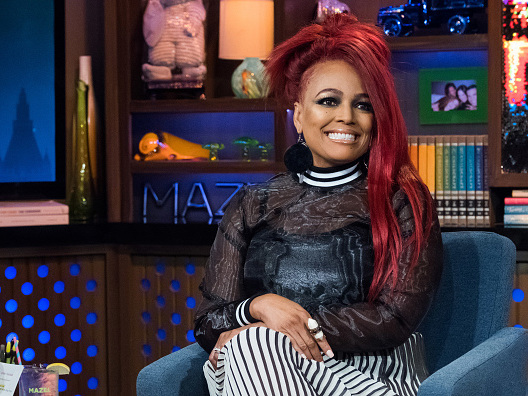 Are You Feeling This Hairstyle? Kim Fields Goes Fire Engine Red