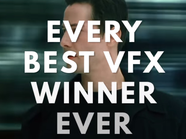 VIDEO - Every Best Visual Effects Winner. Ever. (1929-2018 Oscars)