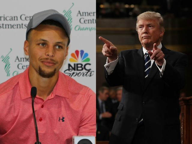 "Trump ""Withdraws"" Warriors' Invitation To 1600 STFU Ave After Steph Curry ""Hesitates"""