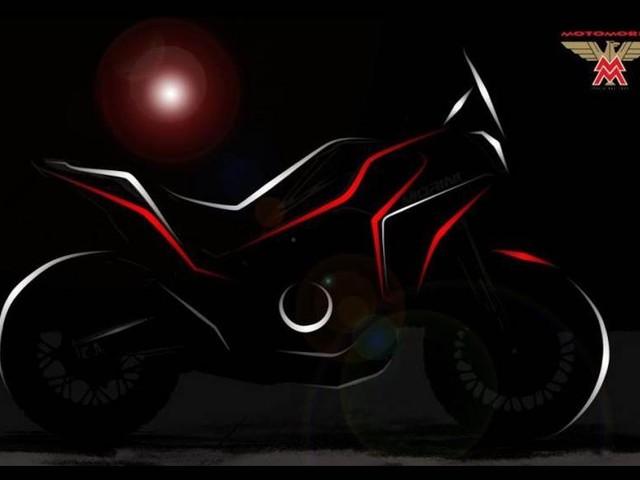 Moto Morini Adventure Motorcycle Teased