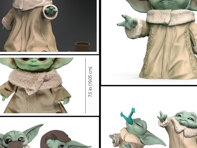 Hasbro Reveal Star Wars The Child (AKA Baby Yoda) Toy Lineup