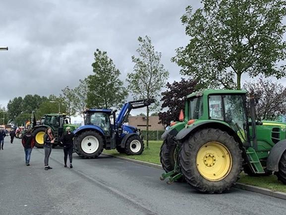 Veiligheidsregio IJsselland: landbouwvoertuigen verboden bij boerenprotesten