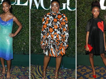 Skai Jackson, Marsai Martin And More Slay The Teen Vogue Young Hollywood Party