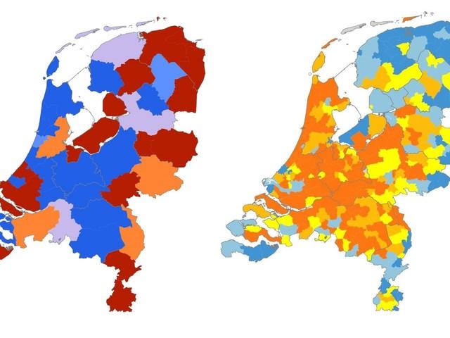 Veel problematische inkomens in Flevoland en Groningen