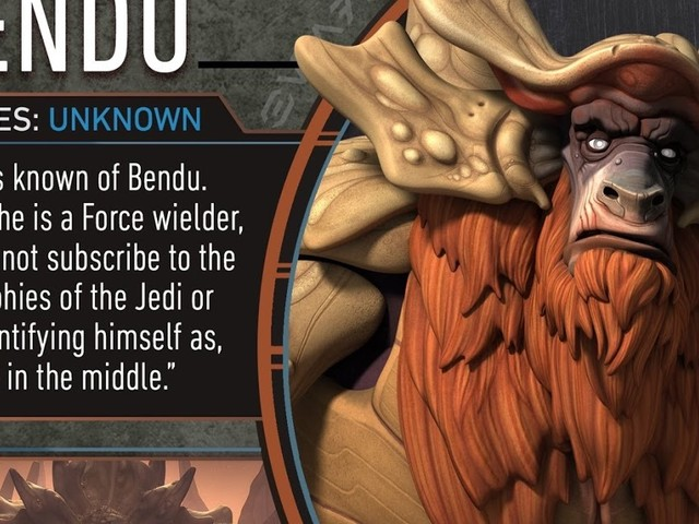 The Bendu – The One in the Middle by Patty Hammond