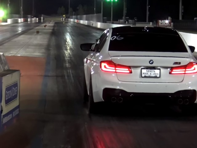 Video: BMW M5 Competition Claims Record 1/4 Mile Run at 10.24s
