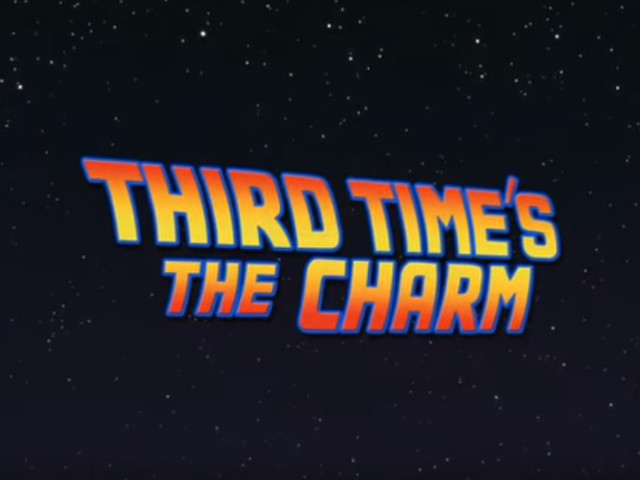 VIDEO - Back to the Future III - Third Time's A Charm