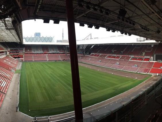 Brrr: geen stadionverwarming tijdens PSV - FC Twente