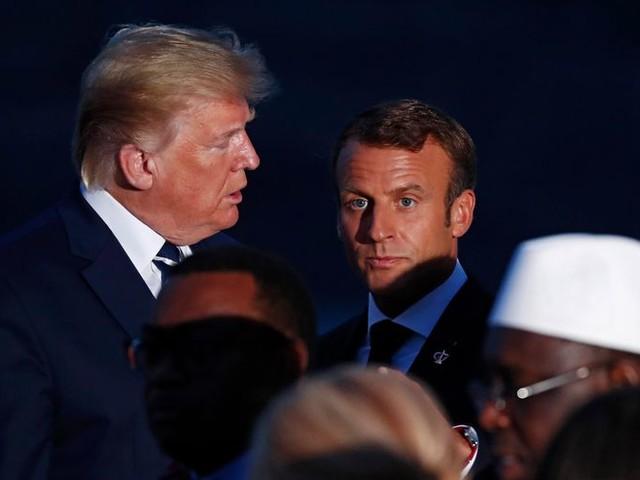 Trump heeft niet veel vrienden in Biarritz