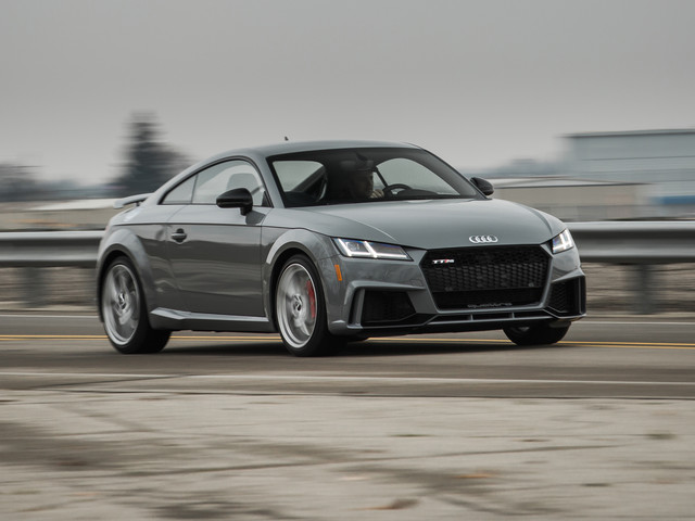2018 Audi TT RS Tested: Five Cylinders, Four Rings, 3.4 Seconds