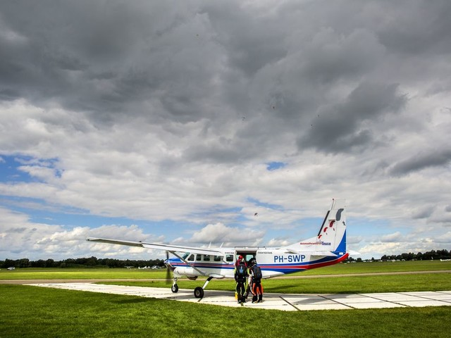 Niet heroïne is het probleem voor Teuge, maar Lelystad Airport