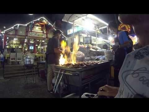 Delicious lobster at Night Market in Hua Hin