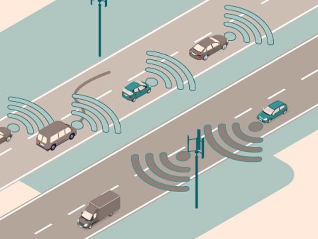 Auto's gaan met elkaar praten, en daar hebben ze 5G niet voor nodig
