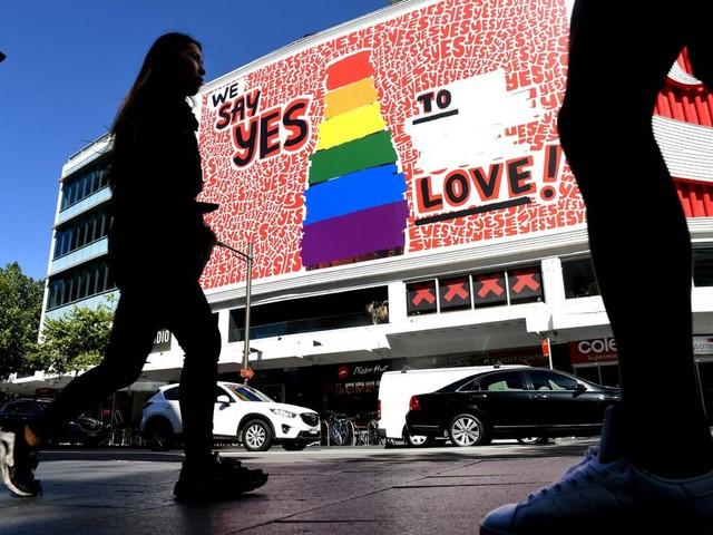 Australiërs stemmen voor homohuwelijk