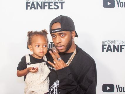 Seen On The Scene: Lil Baby, 6LACK, Queen Naija & More At Morehouse For #YouTubeBlack FanFest